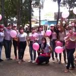 Mujeres cristianas marcharon contra el Cáncer de Mama en Carúpano