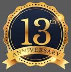13th Anniversary