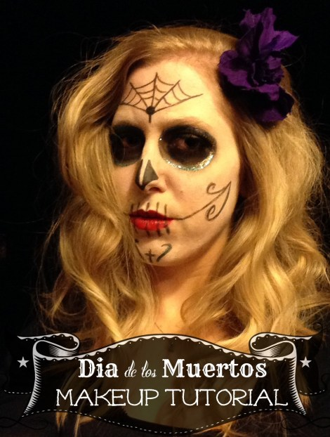 Perfect your sugar skull costume with this sugar skull makeup tutorial for Dia de los Muertos (Day of the Dead). This is a super simple look that doesn't require special, expensive makeup, stencils or even a very steady hand. Learn different variations of one simple look to create something unique.