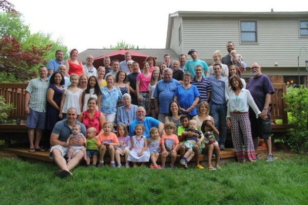 Pfaendtner Family After-Wedding Picnic