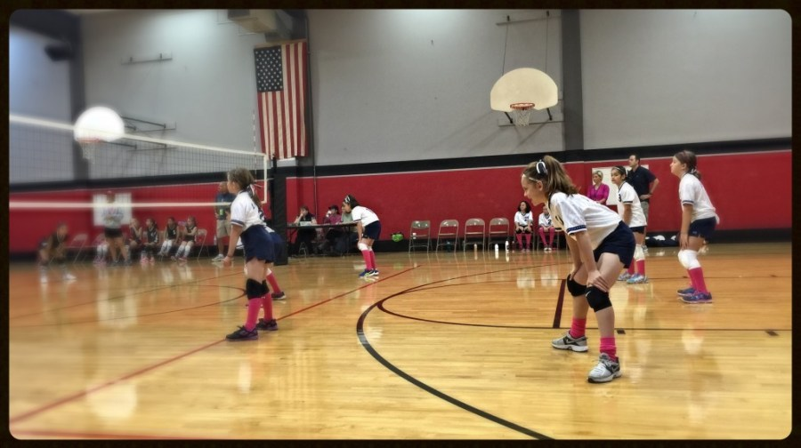 Little Ms. Volleyball