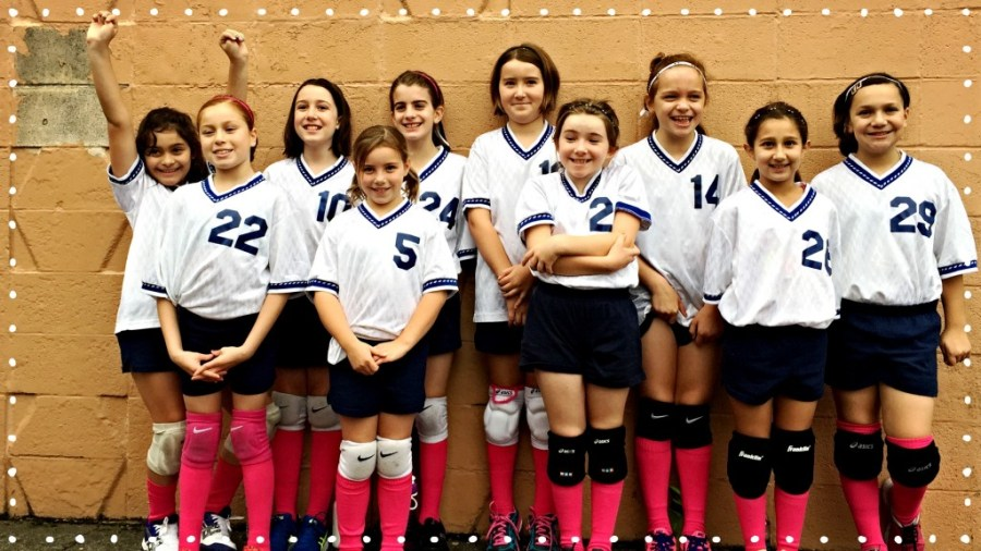 Our Lady of Lourdes Volleyball Third and Fourth Grade Team 2014