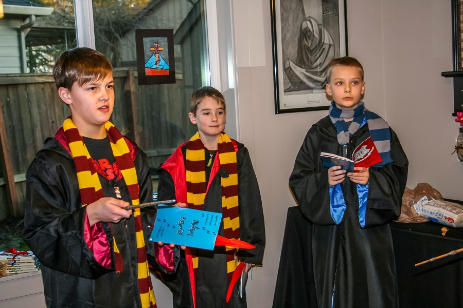 McKenzie 11th Birthday Harry Potter Party