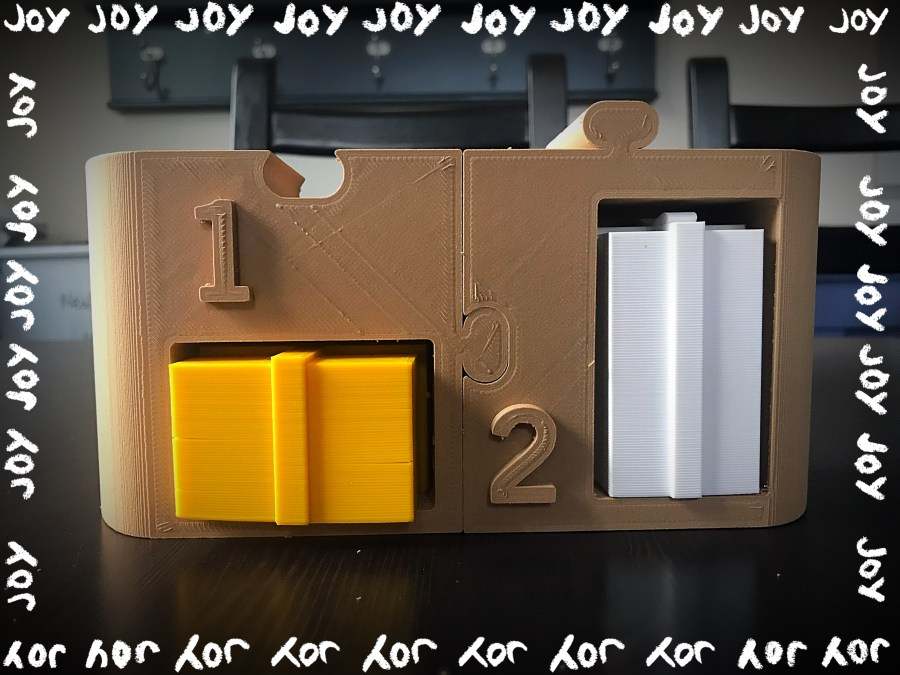 Day 2 of 3D-Printed Advent Calendar