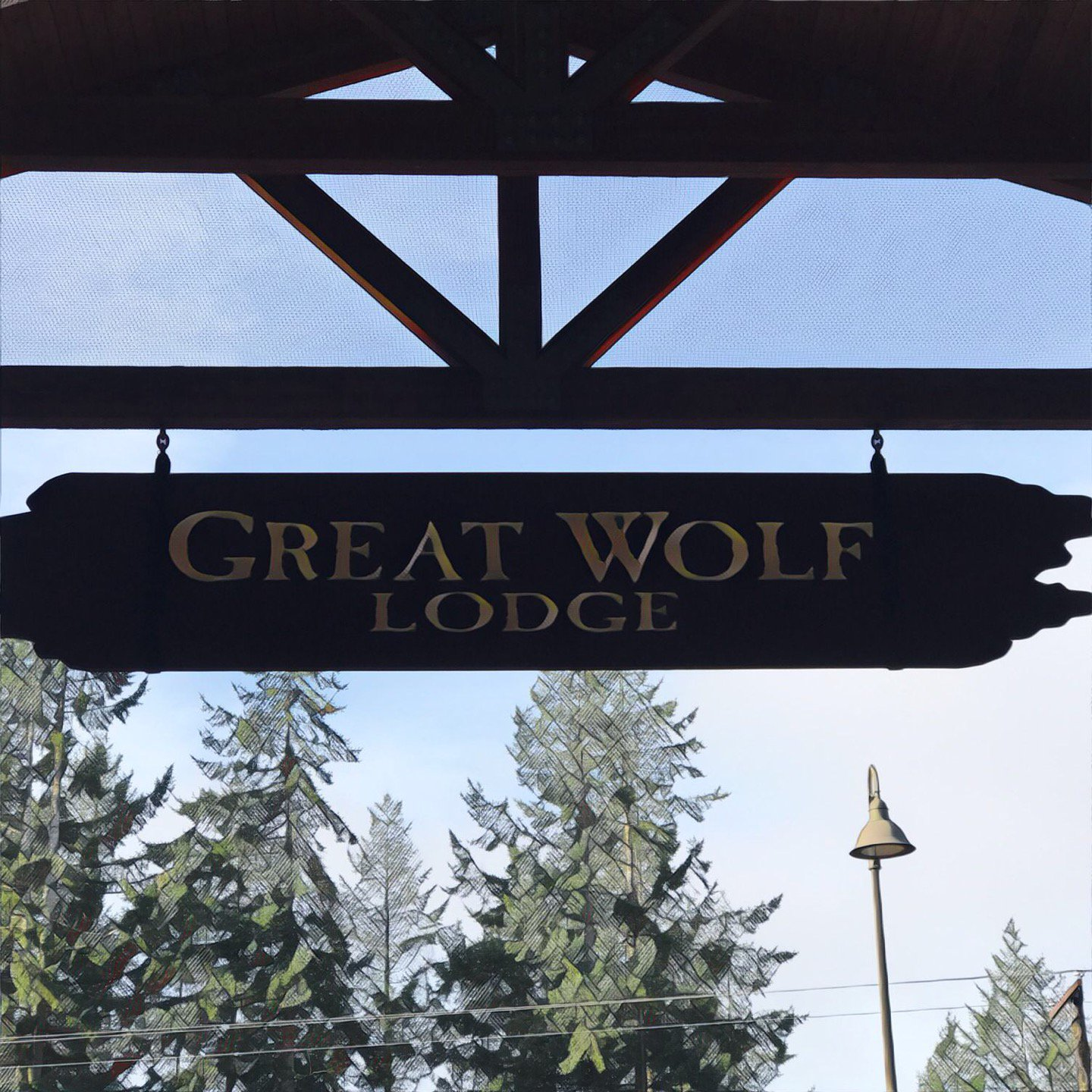 I'm at @GreatWolfLodge in Grand…