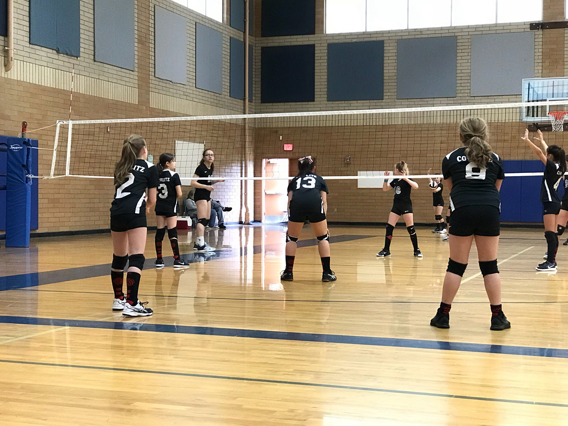 Volleyball tournament (@ Kelso High…