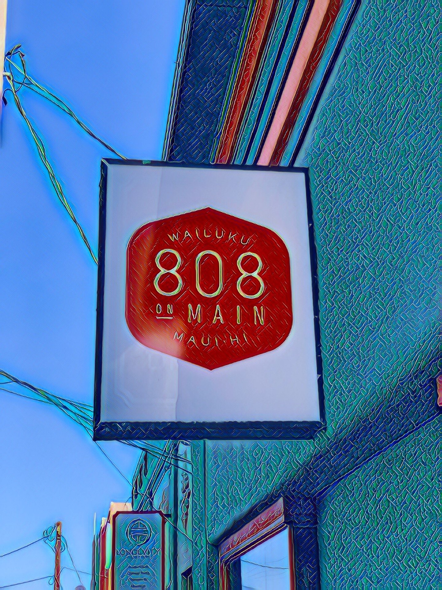 I'm at 808 on Main…