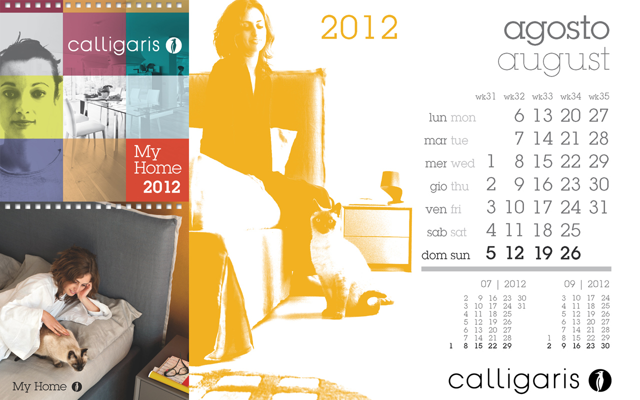 Calligaris My Home: Agosto 2012