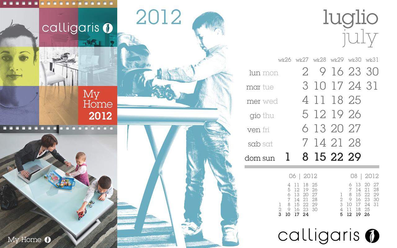 Calligaris My Home: Luglio 2012