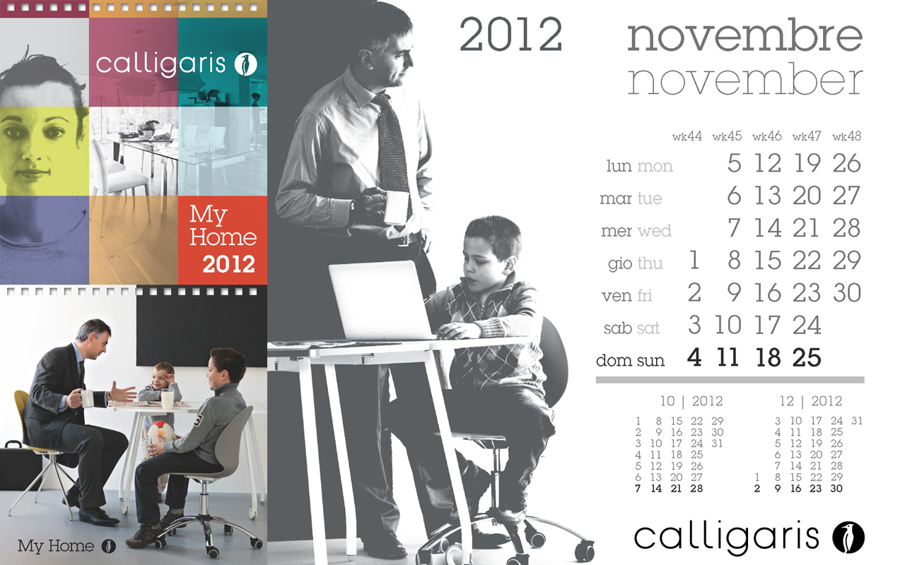 Calligaris My Home: Novembre 2012
