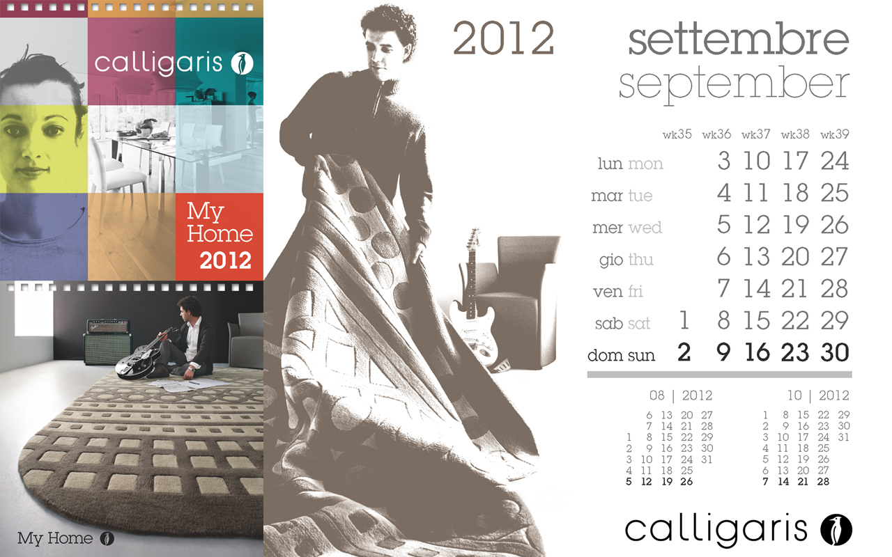 Calligaris My Home: Settembre 2012