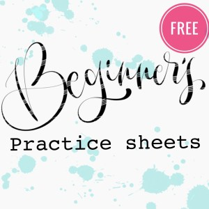 Beginners practice sheets