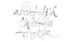 Calligraphique - Serge cortesi