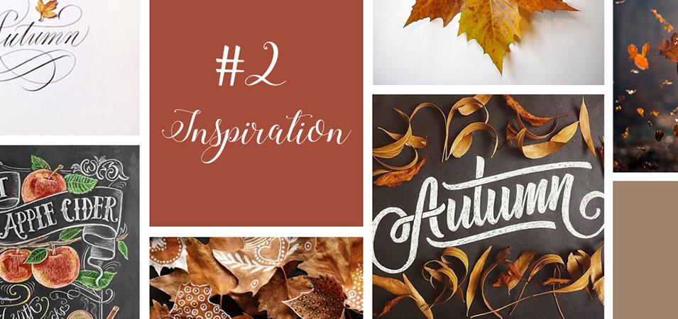 calligraphie automne