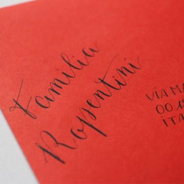 Calligraphique sur etsy.fr   Calligraphie personnalisée marque-places enveloppes événement
