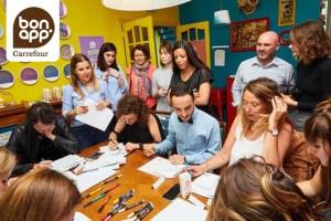 Atelier Lettering carrefour Bon'app