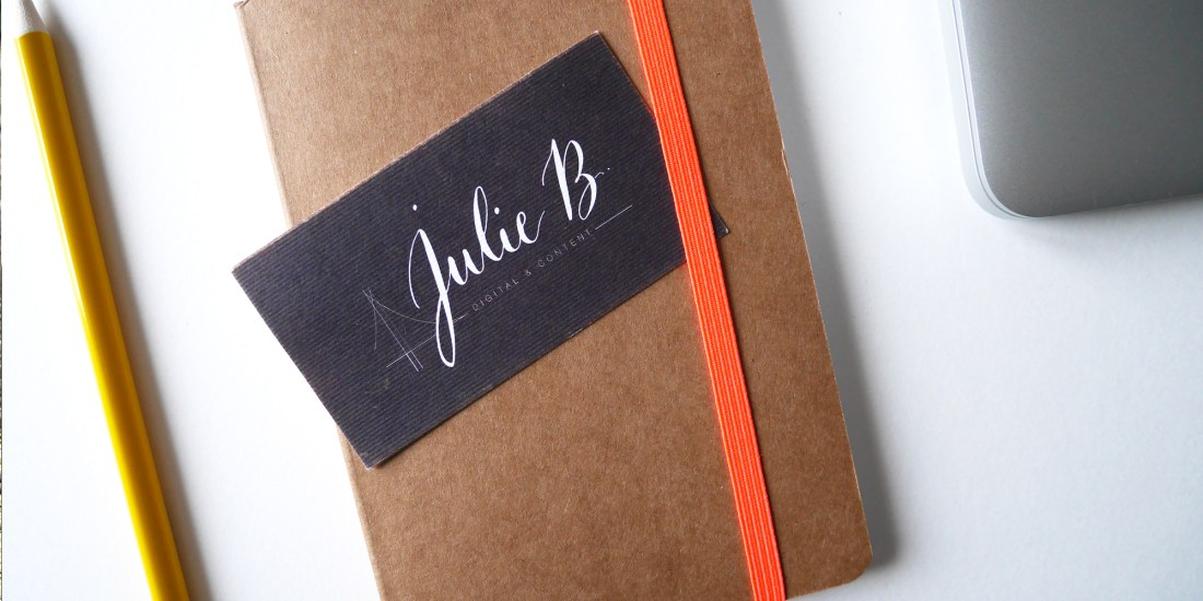 Logo Julie B - calligraphique
