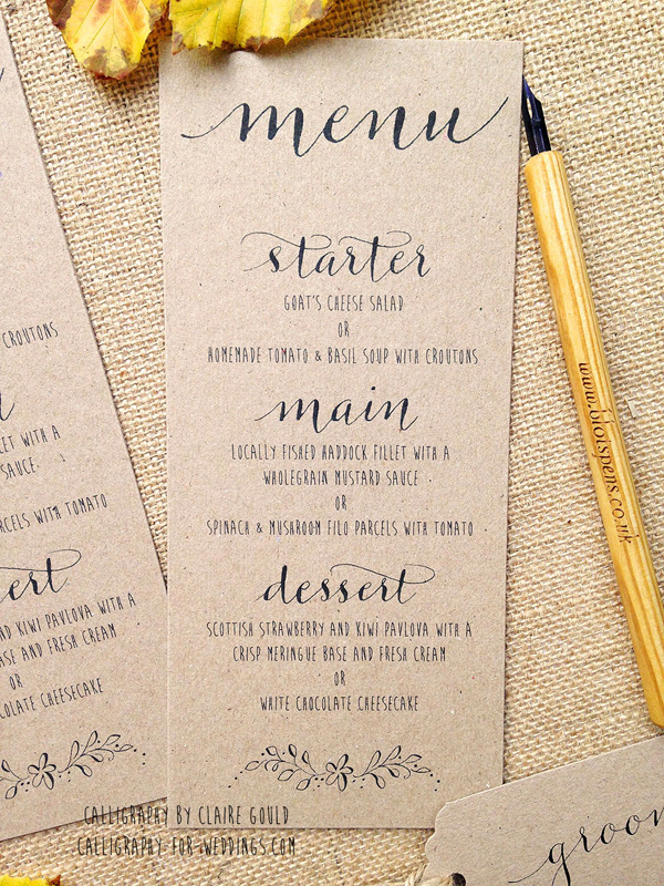 Simple Save Date Cards
