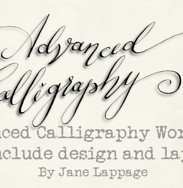 Advanced Calligraphy Workshop