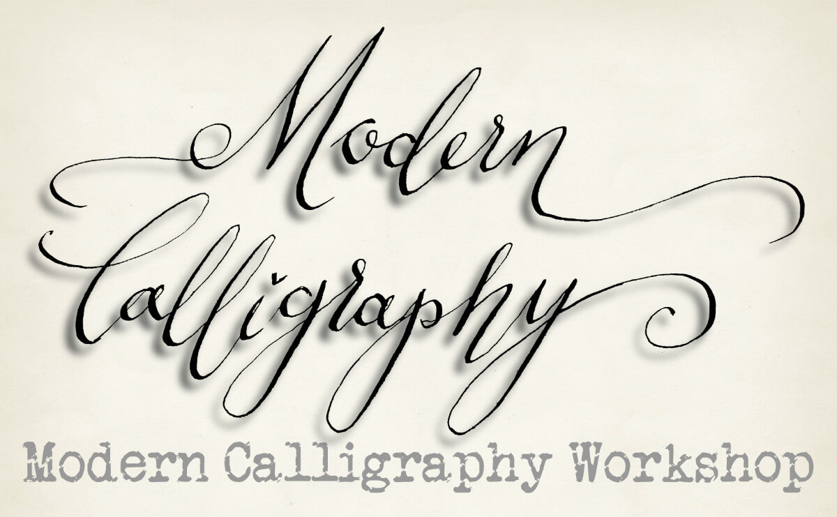Beginners modern calligraphy course arts