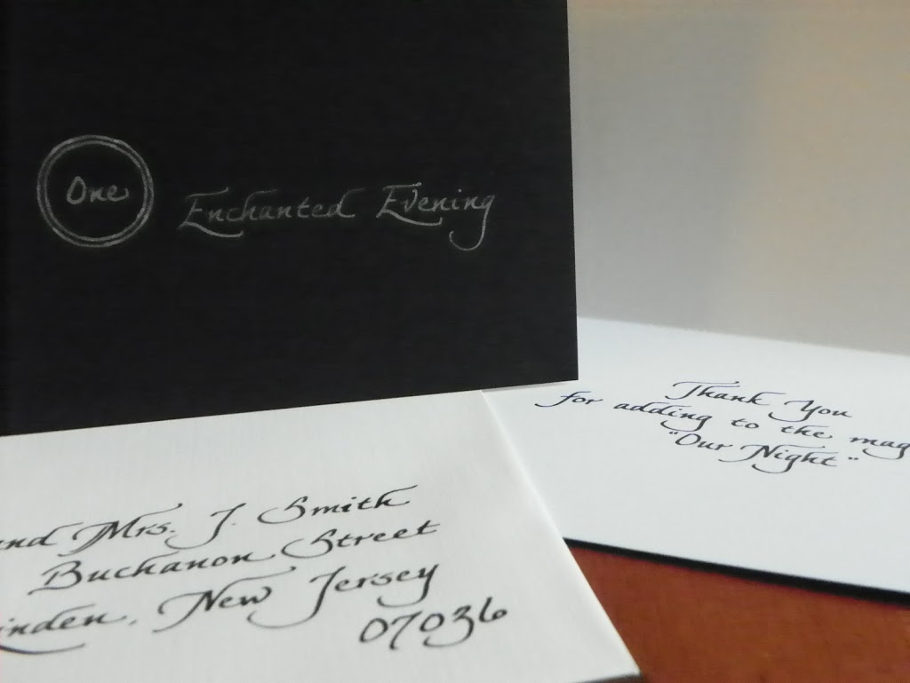 Thank You Cards And Bible Verses Jacksonville Fl Calligraphy