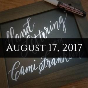 Hand Writing Aug 17