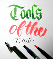 Best Calligraphy Tools for each style of tool