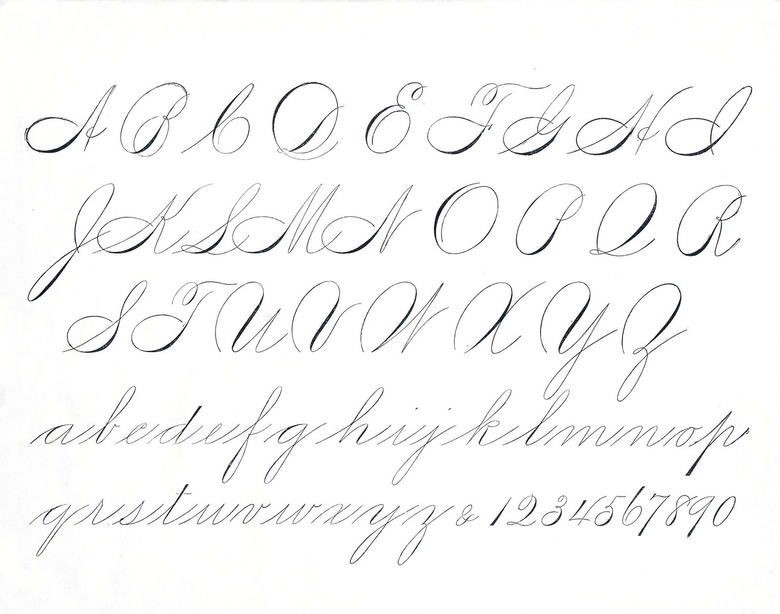 Lettering and Handwriting Worksheets: Roundup – Pretty Prints & Paper