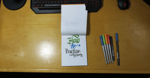 How to Practise Calligraphy