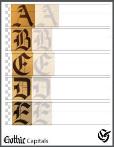 Gothic Capital Practice Sheet
