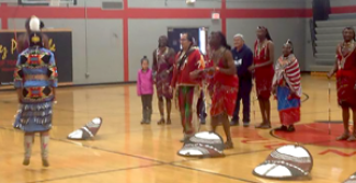 Nimiipuu and Maasai Dancers