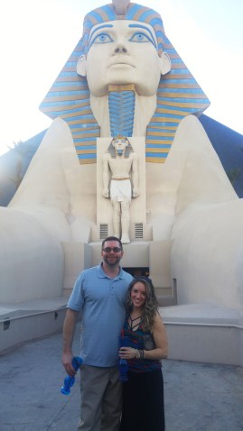 At the Luxor in Vegas