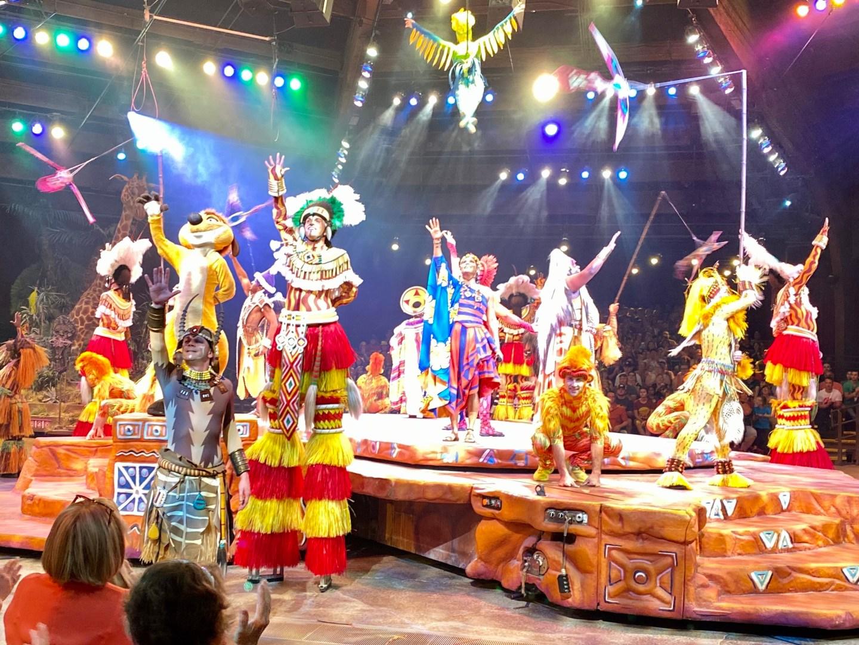 Disney World; Festival of the Lion King