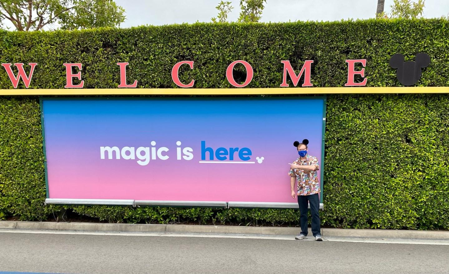 Rejoice! Disneyland has reopened!