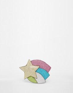 Porte-monnaie étoile pailletée, Asos, 8,49 euros