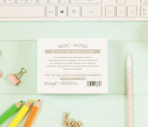 Bloc-notes résolutions, Mr Wonderful, 10,50 euros