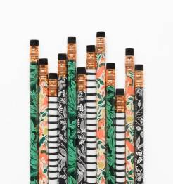 Set de 12 crayons Folk, Rifle Paper Co, 12 dollars