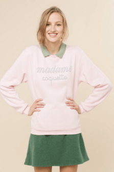 Sweat Madame Coquette, Rad, 34,90 euros