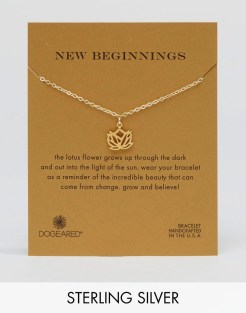 Bracelet en plaqué or New Beginnings, Dogeraed, 67 euros