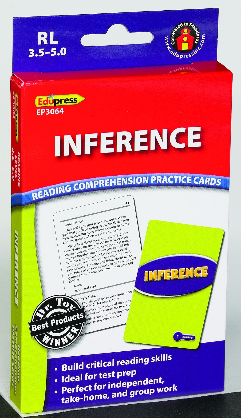 Inference Practice Cards