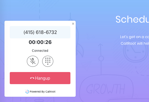 CallRoot Click-to-Call Dialer