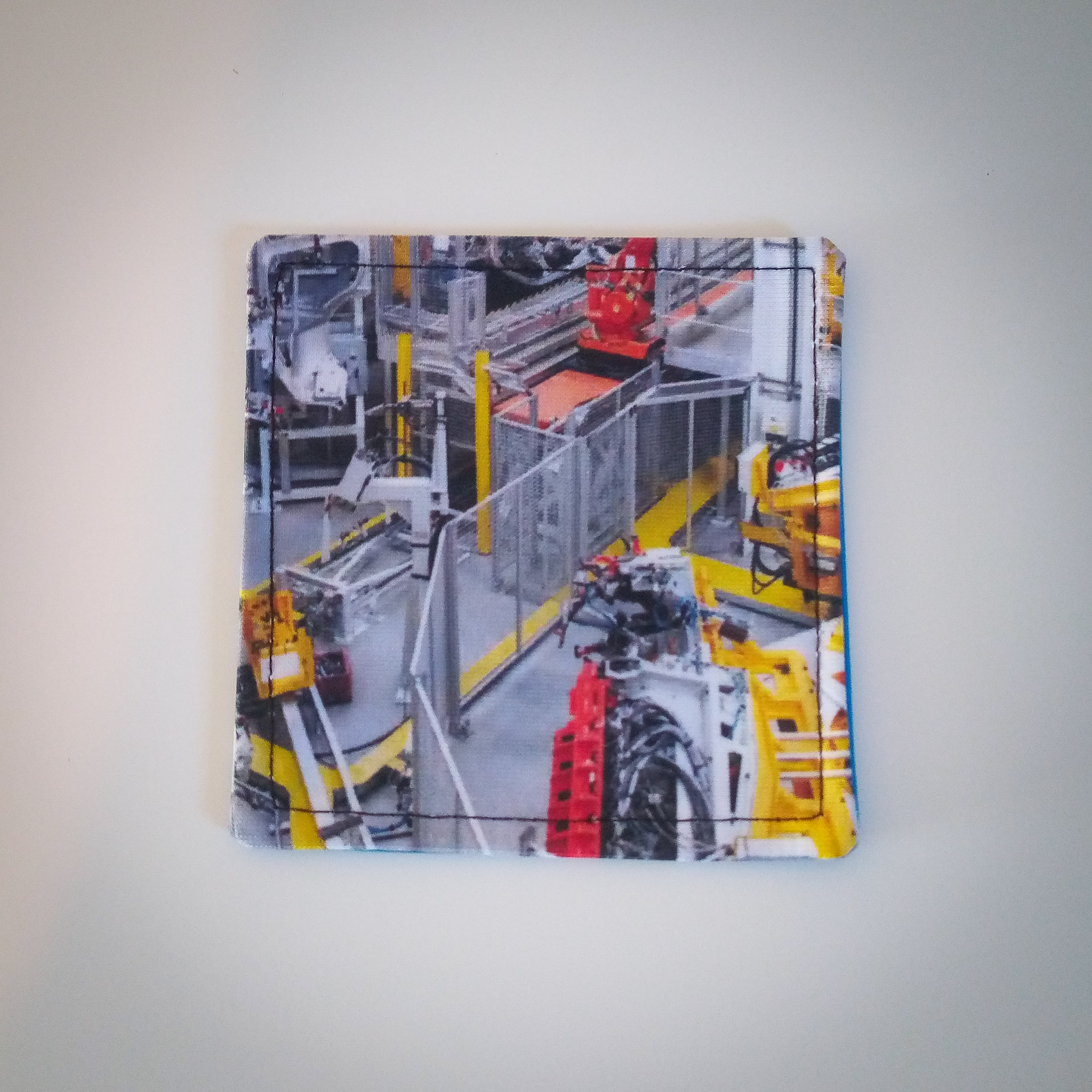 Fabric Reversible Coaster… Factory