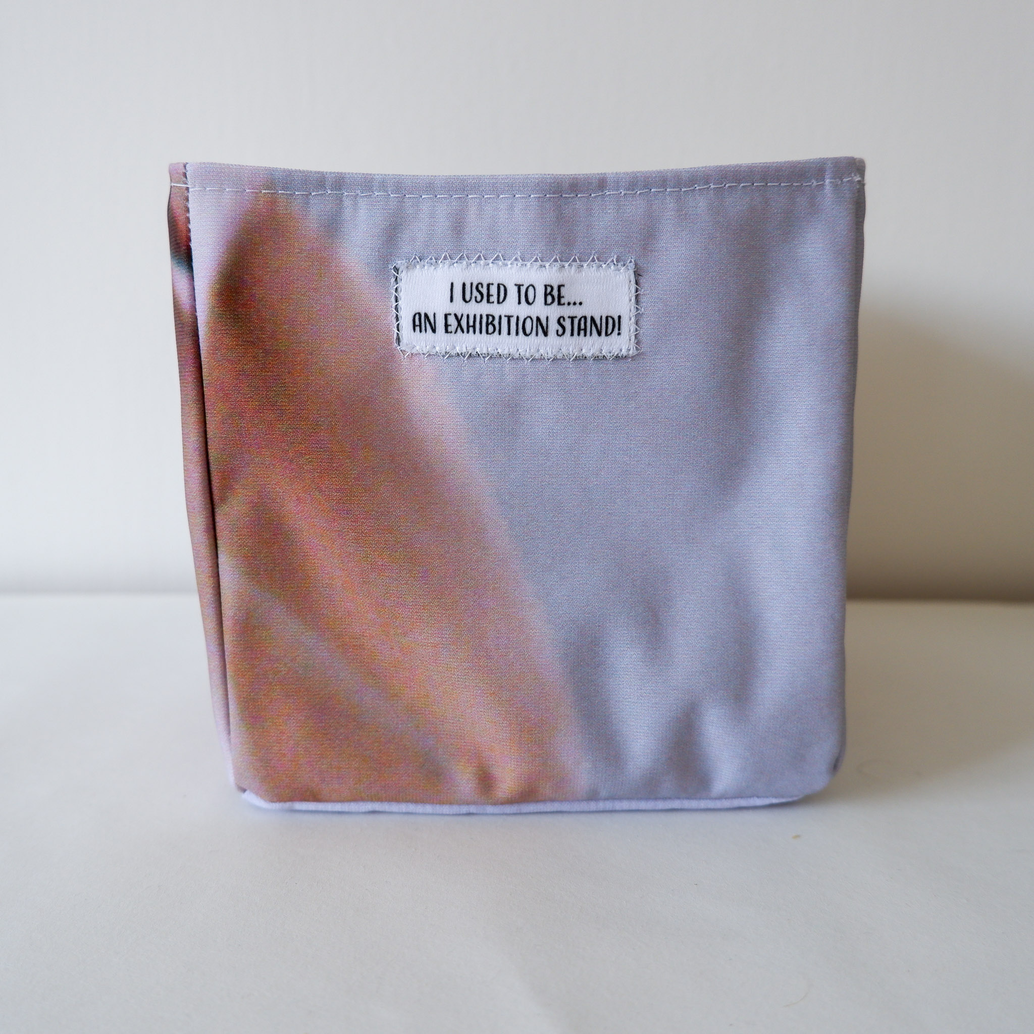 Fabric Grey And Cream Box Front