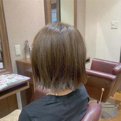 カーム 髪 美容室 実例