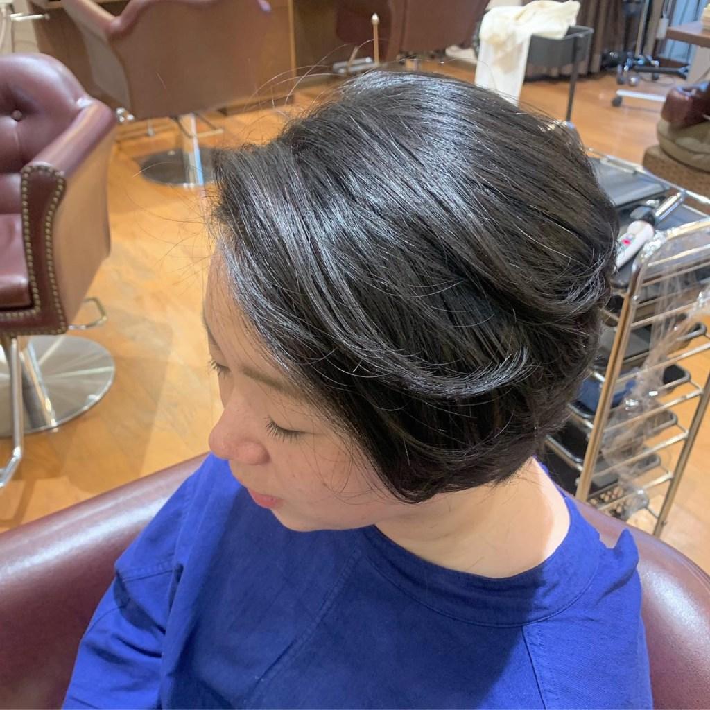 美容室clam カット