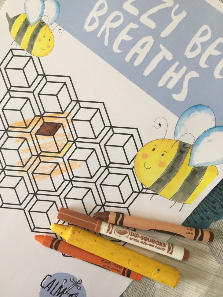 Buzzy Bee Breaths: A Mindful Breathing Exercise for Children.