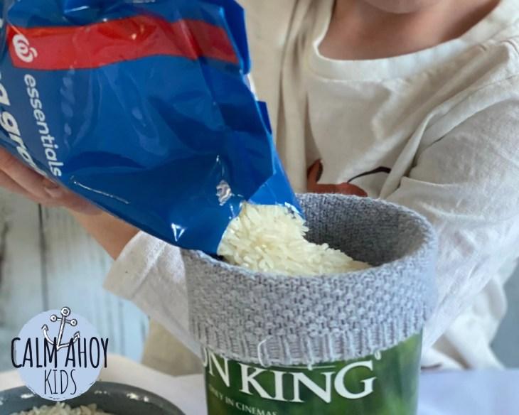 Sock Bunny Rice