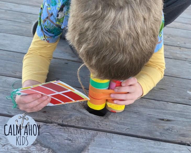 Rainbow Colour Walk with Kids