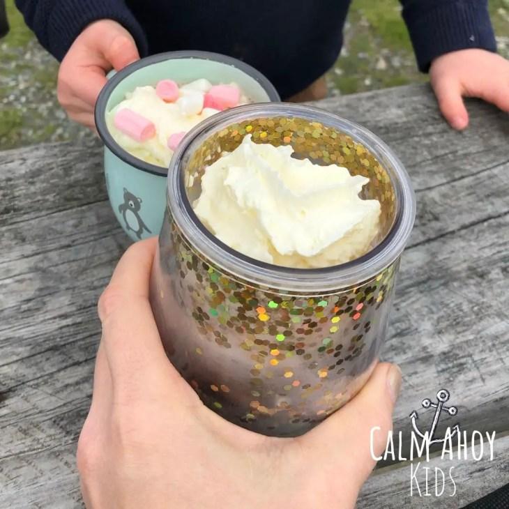 Calming activities - mindful hot chocolate