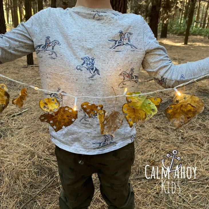 Autumn leaf activity